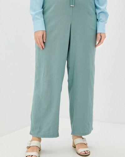 Бирюзовые прямые брюки Evans