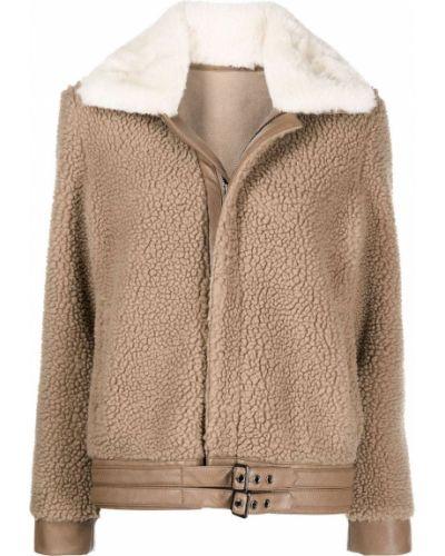 Biały klasyczny płaszcz Apparis