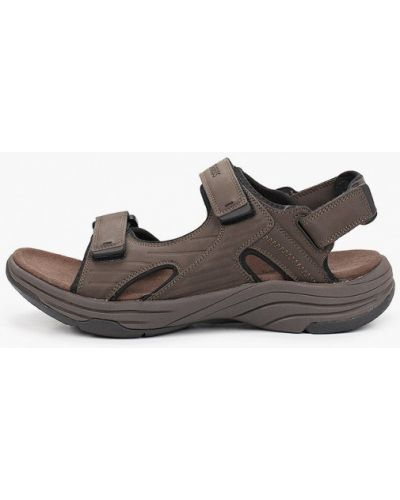 Кожаные сандалии - коричневые Strobbs
