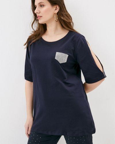 Синяя футболка Sophia