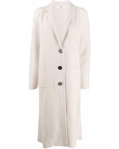 Длинное пальто на кнопках шерстяное Roberto Collina