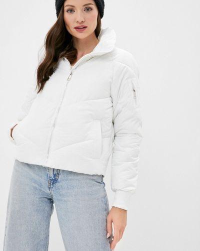 Утепленная белая куртка Fadjo