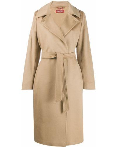 Пальто бежевое пальто Max Mara Studio