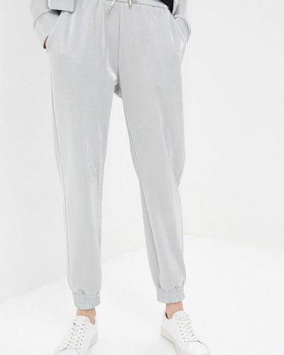 Спортивные брюки серебряного цвета Pinko