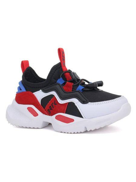 Кожаные кроссовки - красные Bartek