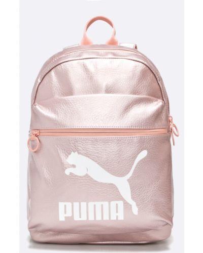 Кожаный рюкзак розовый Puma