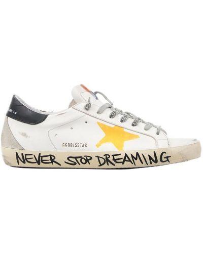 Sneakersy z printem Golden Goose
