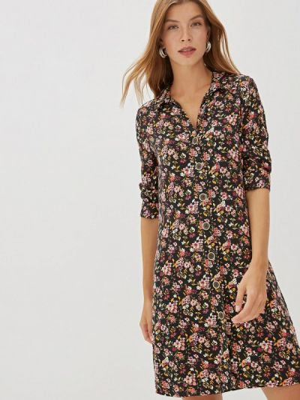 Платье платье-рубашка осеннее Colin's