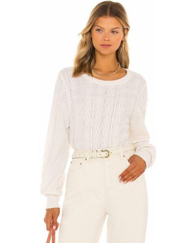 Кашемировый свитер - белый White + Warren