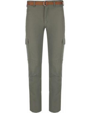 Прямые хлопковые зеленые спортивные спортивные брюки Merrell