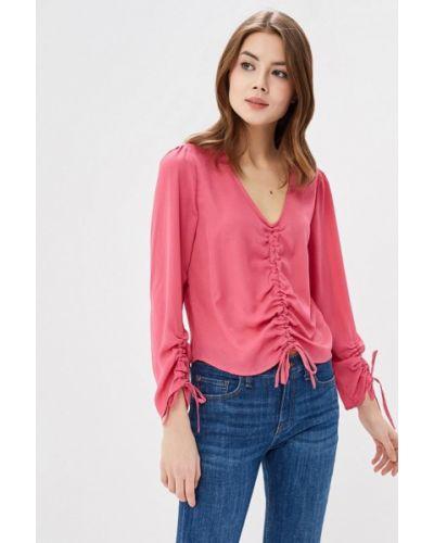 Блузка розовая весенний Jennyfer