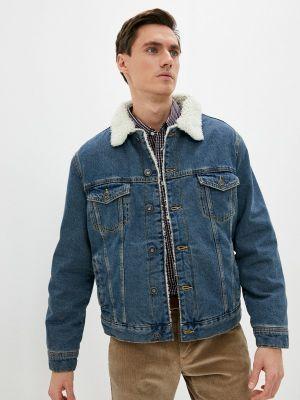 Джинсовая куртка - синяя Ostin
