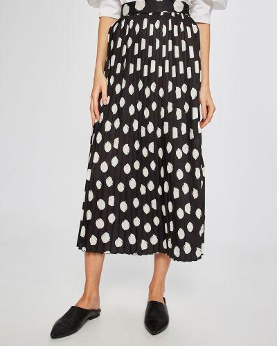 Плиссированная юбка с завышенной талией с поясом Answear