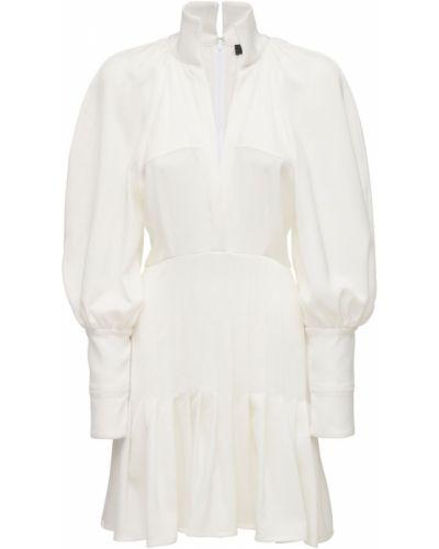 Biała sukienka mini Ellery