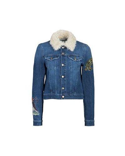Джинсовая куртка куртка-жилет Valentino Red