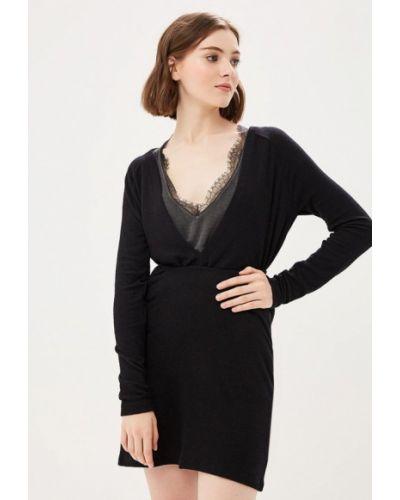 Вязаное платье осеннее трикотажное Free People