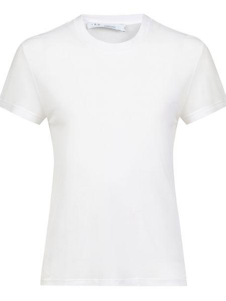 Хлопковая футбольная белая футболка Iro