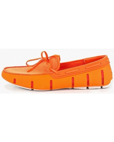 Мокасины оранжевый Swims