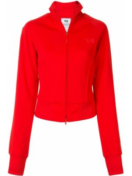 Красная спортивная куртка двусторонняя на молнии Y-3