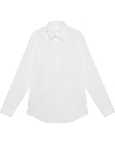 Классическая рубашка стрейч оксфордская Prada