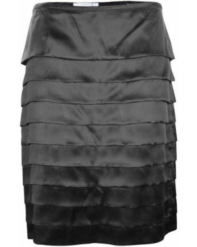 Czarna spódnica plisowana Bamford