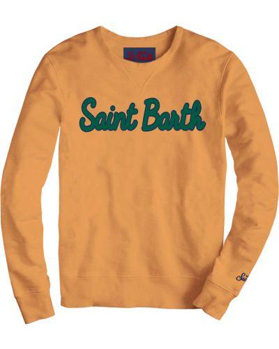 Sweter - pomarańczowy Mc2 Saint Barth