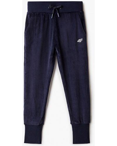 Синие спортивные брюки 4f