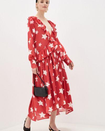 Прямое красное платье Sister Jane