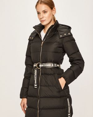 Куртка с капюшоном стеганая с карманами Armani Exchange