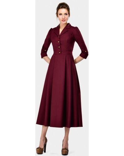 Платье бордовый красный Alisia Fiori