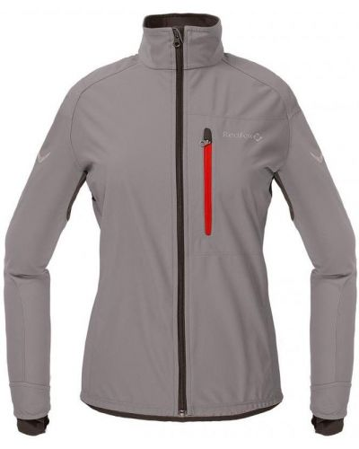 Спортивная куртка для бега серая Red Fox