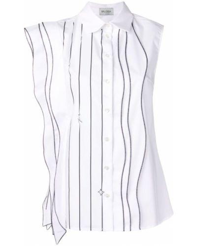 Классическая рубашка без рукавов Balossa White Shirt