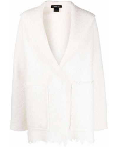 Белое пальто длинное Avant Toi