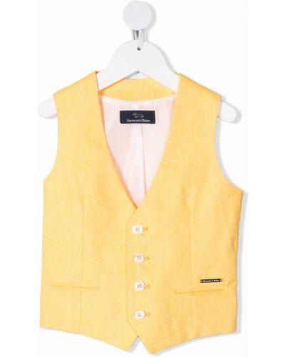 Kamizelka bez rękawów - żółta Harmont & Blaine Junior