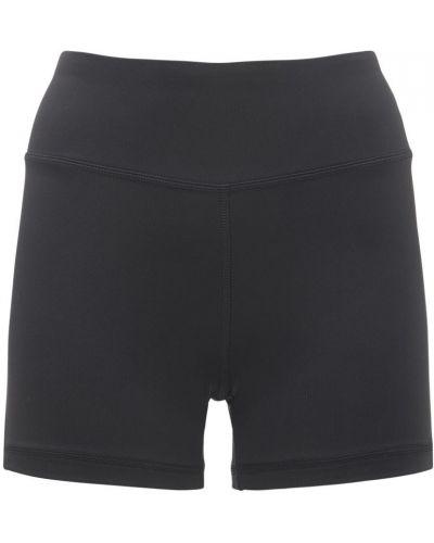 Черные шорты на резинке Reebok Classics