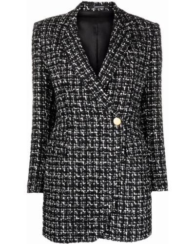Черный пиджак из полиэстера Tagliatore