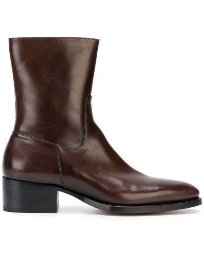 Ботильоны кожаный для обуви Dsquared2