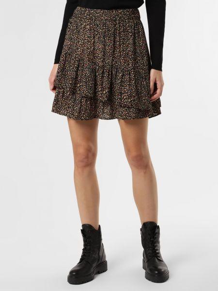 Czarna spódnica z wiskozy Mbym
