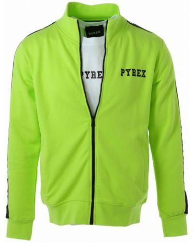 Zielona bluza dresowa Pyrex
