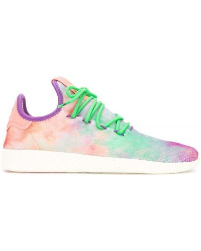 Fioletowe sneakersy Adidas By Pharrell Williams