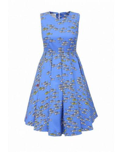 Синее платье весеннее 10x10 An Italian Theory