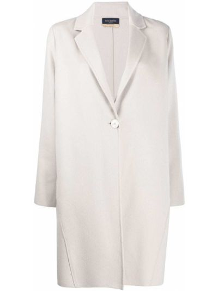 Вязаное однобортное шерстяное пальто на пуговицах Piazza Sempione