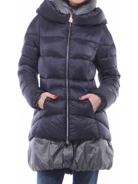 Серая куртка с перьями Marina Yachting