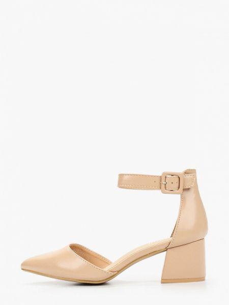 Кожаные туфли бежевый из искусственной кожи Chiara Foscari
