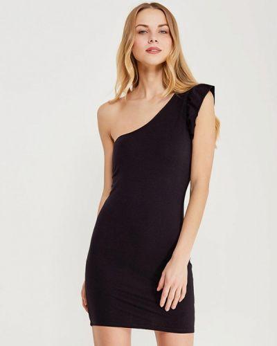 Вечернее платье осеннее черное Jennyfer