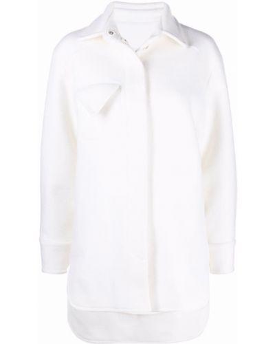 Длинная рубашка - белая Bevza