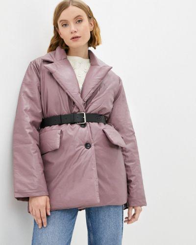 Фиолетовая куртка утепленная Fresh Cotton