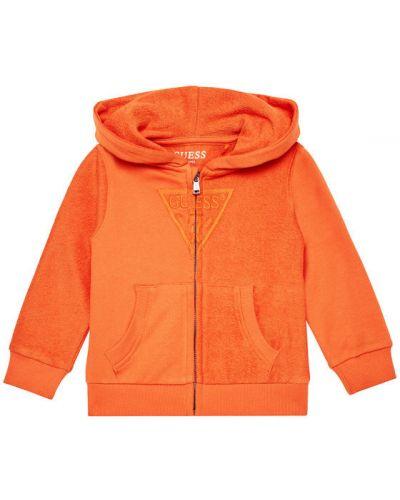 Pomarańczowy bluzka Guess
