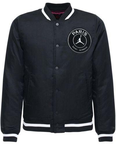 Стеганая куртка - черная Nike