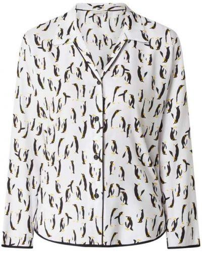 Bawełna bawełna biały piżama z długimi rękawami Cyberjammies
